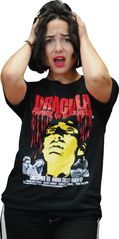 "HAMMER FILMS: ""DRACULA: PRINCE OF DARKNESS"" T-SHIRT"