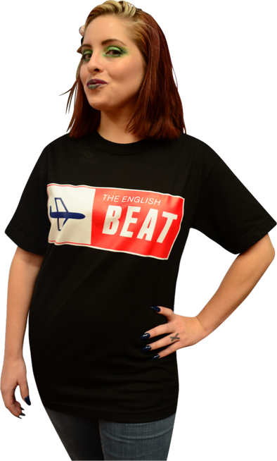 "ENGLISH BEAT ""AIRPLANE"" LOGO T-SHIRT"