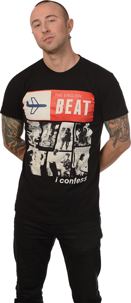 "ENGLISH BEAT ""I CONFESS"" T-SHIRT"