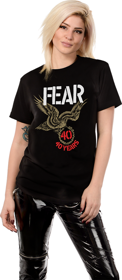 "FEAR ""40TH ANNIVERSARY TOUR"" WOMENS T-SHIRT"