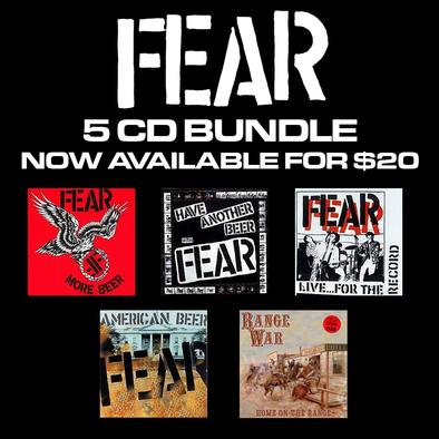FEAR CD BUNDLE