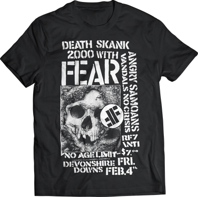 "FEAR ""DEATH SKANK 2000"" T-SHIRT"
