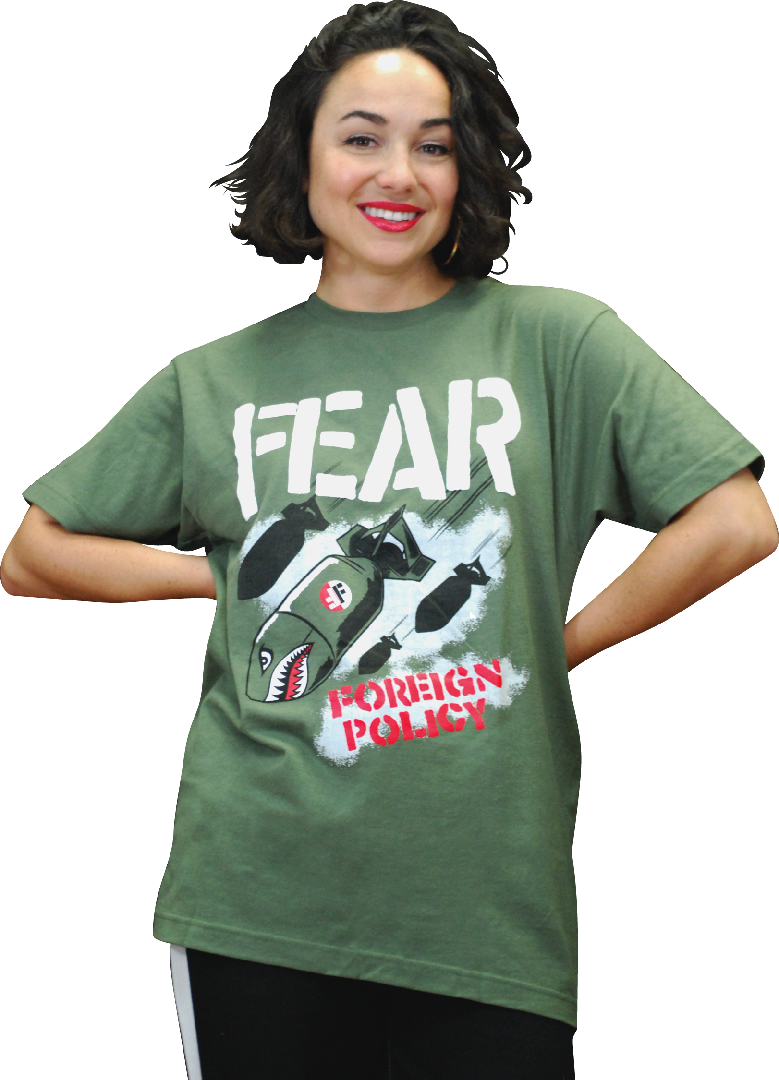 "FEAR ""FOREIGN POLICY"" T-SHIRT"