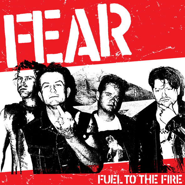 "FEAR: ""FUEL TO THE FIRE"" LIMITED EDITION 7"" VINYL SINGLE"