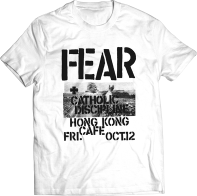 "FEAR: ""HONG KONG CAFE"" FLYER T-SHIRT"
