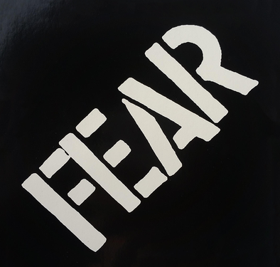 FEAR STICKER