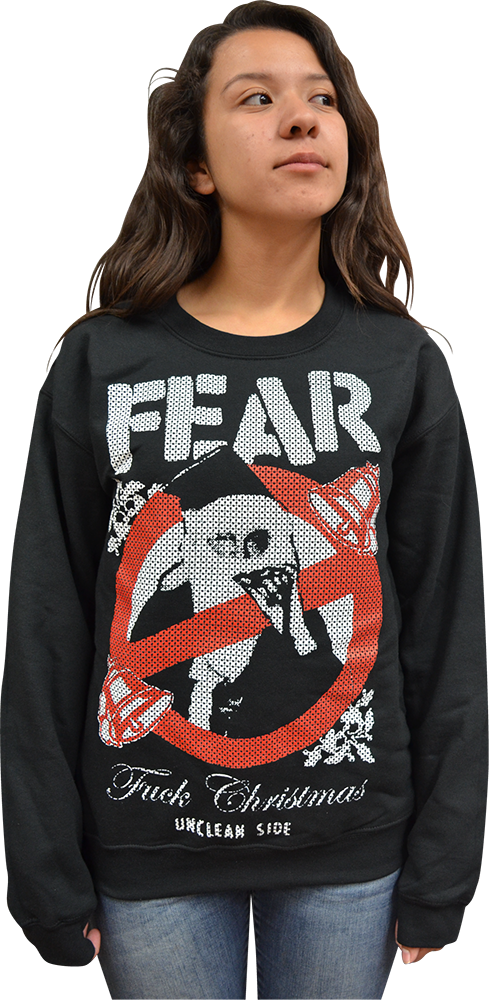 fear fuck christmas unclean side ugly christmas sweater - Misfits Christmas Sweater