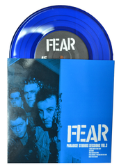 "FEAR 'PARADISE STUDIOS SESSIONS VOL. 3' 7"" SINGLE (LIMITED EDITION) BLUE VINYL"