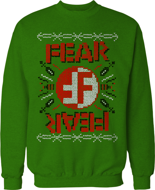 "FEAR ""CHRIS SHARY"" LIMITED EDITION UGLY CHRISTMAS SWEATER"