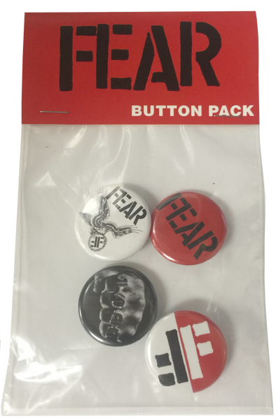 FEAR:  BUTTON PACK
