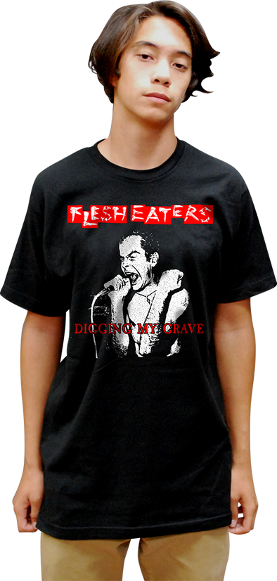 "FLESH EATERS: ""DIGGING MY GRAVE"" T-SHIRT"