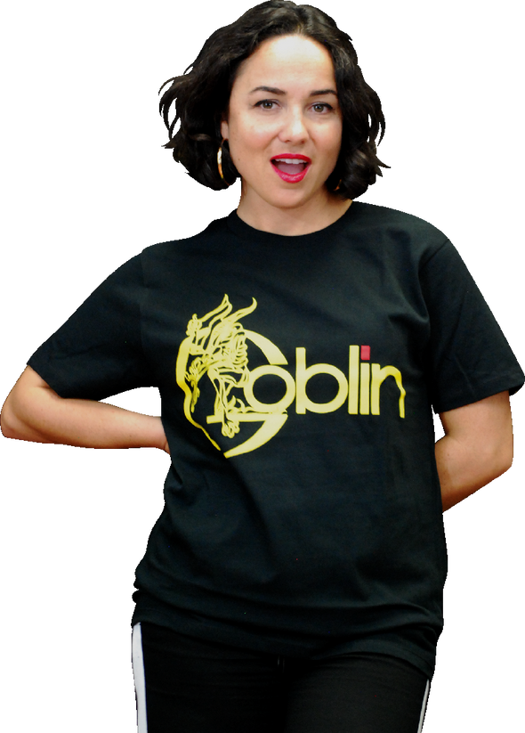 "GOBLIN ""YELLOW LOGO"" T-SHIRT"