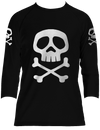 Officially Licensed Captain Harlock Raglan 3/4 Sleeve T-shirt