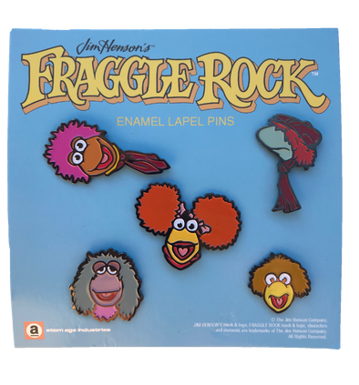 FRAGGLE ROCK ENAMEL PIN SET