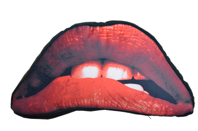 "ROCKY HORROR PICTURE SHOW ""LIPS"" PILLOW"