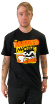 "DAMNED: ""MACHINE GUN ETIQUETTE""  T-SHIRT"