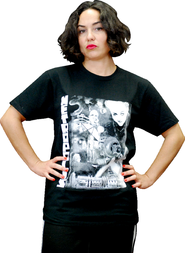 "ATOM AGE ""METROPOLIS COLLAGE"" T-SHIRT"