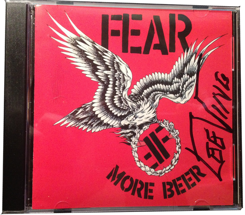 "FEAR: ""MORE BEER"" CD"
