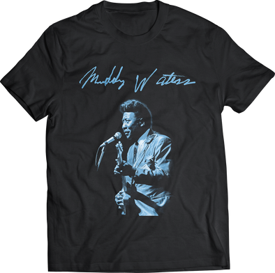 "MUDDY WATERS ""LIVE"" T-SHIRT"