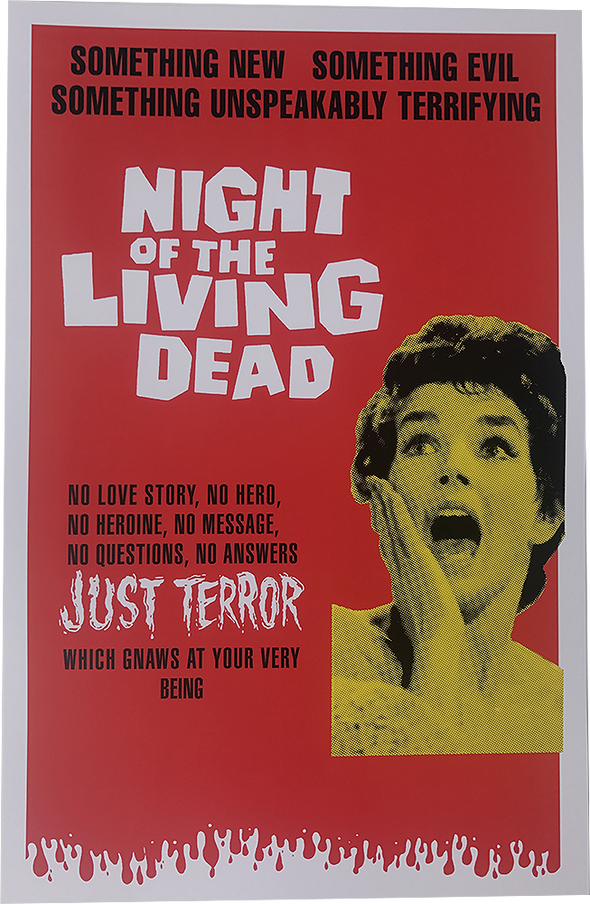 NIGHT OF THE LIVING DEAD (AUSTRALIA) POSTER