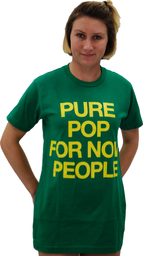"NICK LOWE: ""PURE POP FOR NOW PEOPLE"" T-SHIRT"