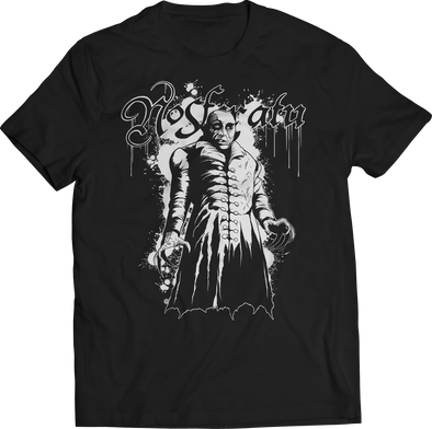 "ATOM AGE: NOSFERATU ""ILLUSTRATED BY ED KING"" LIMITED EDITION GLOW IN THE DARK T-SHIRT."