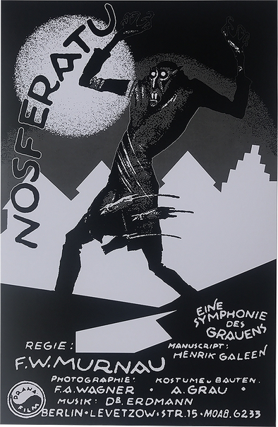 ATOM AGE NOSFERATU MOVIE POSTER