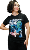 "HAMMER FILMS: ""THE PLAGUE OF THE ZOMBIES"" T-SHIRT"