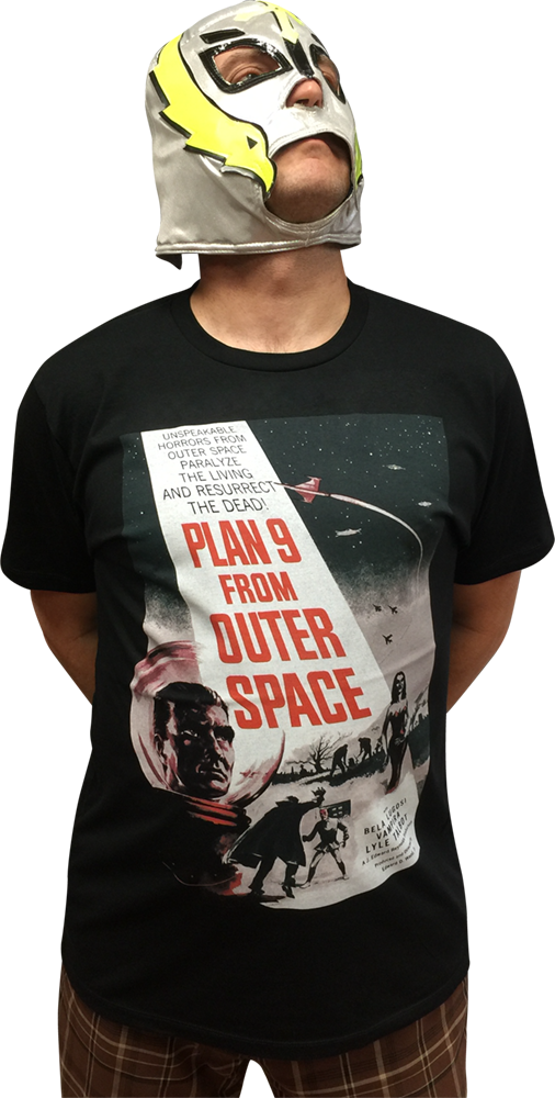 ATOM AGE:  PLAN 9 FROM OUTER SPACE T-SHIRT