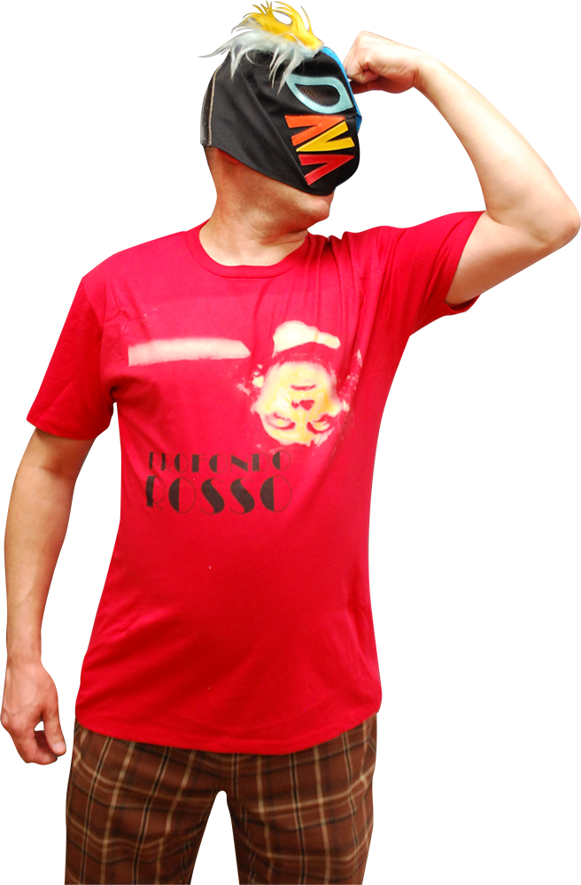 ATOM AGE: PROFONDO ROSSO REFLECTION T-SHIRT