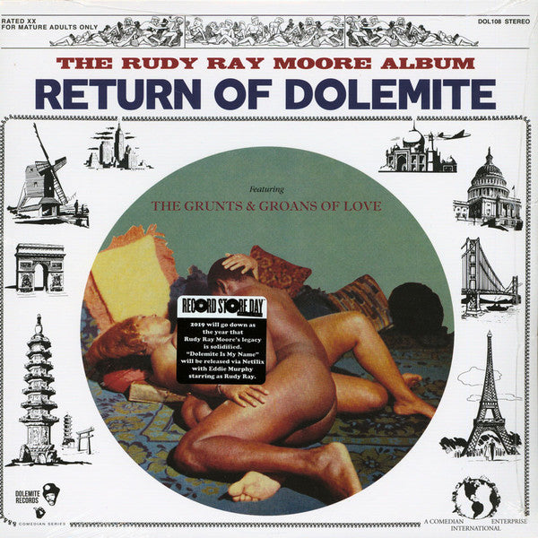 "RUDY RAY MOORE - ""Return of Dolemite"" LP"