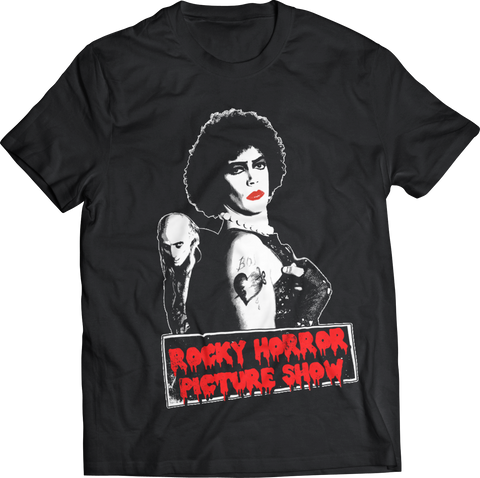 ROCKY HORROR PICTURE SHOW BLACK T-SHIRT