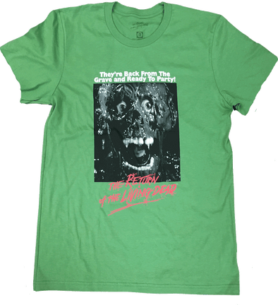 "RETURN OF THE LIVING DEAD ""TAR MAN"" POSTER T-SHIRT"