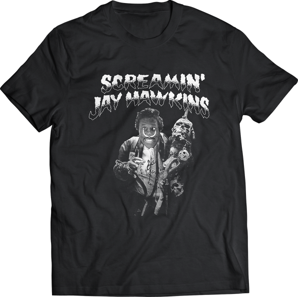 "SCREAMIN' JAY HAWKINS ""CROSS EYED"" T-SHIRT"