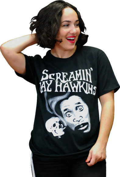 "SCREAMIN' JAY HAWKINS ""HENRY"" T-SHIRT"