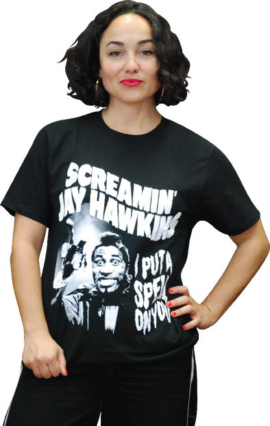 "SCREAMIN' JAY HAWKINS ""I PUT A SPELL ON YOU"" T-SHIRT"