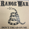 "RANGE WAR ""DON'T TREAD ON ME"" 7"" SINGLE"
