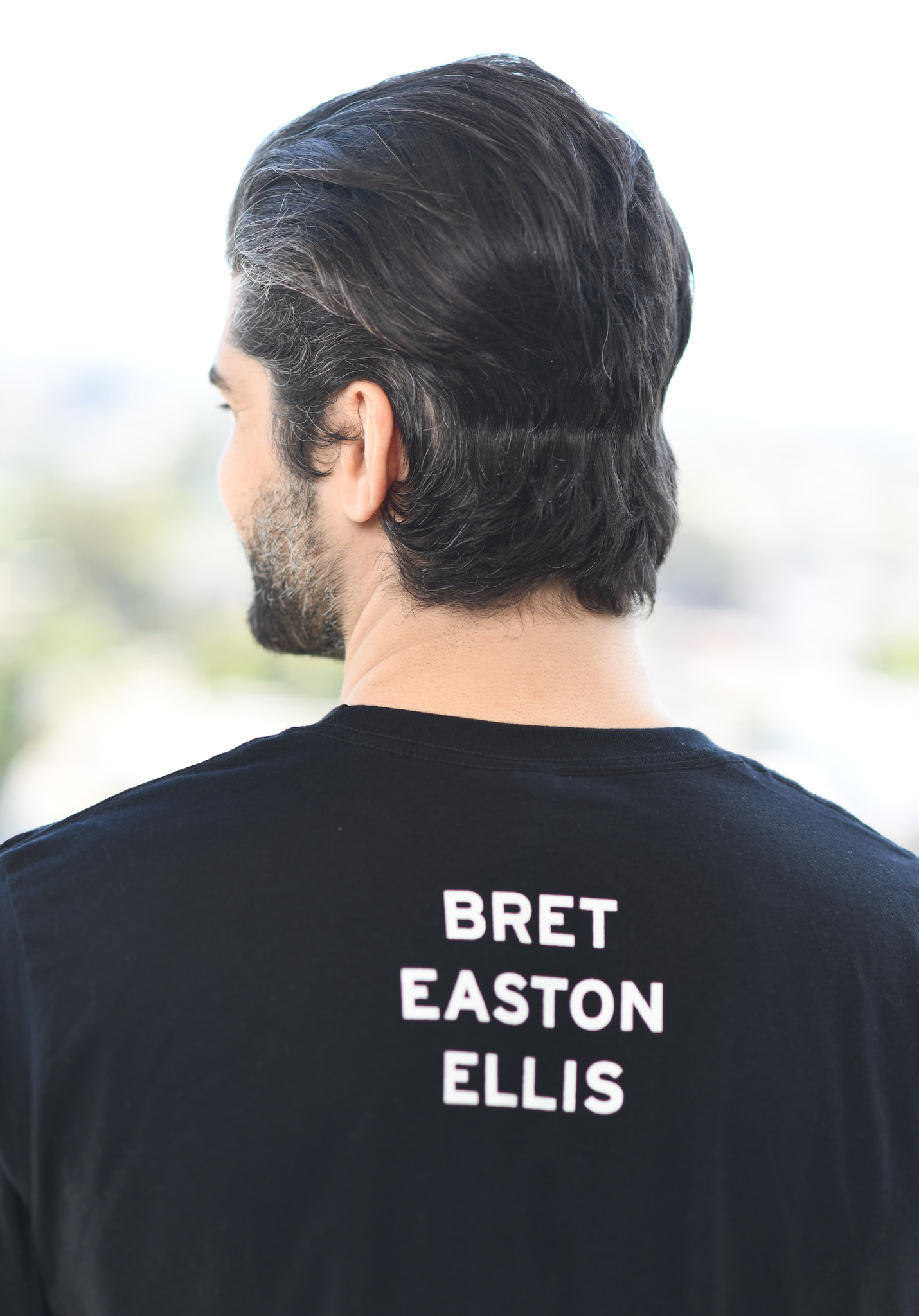 "BRET EASTON ELLIS ""THIS IS NOT AN EXIT"" T-SHIRT"