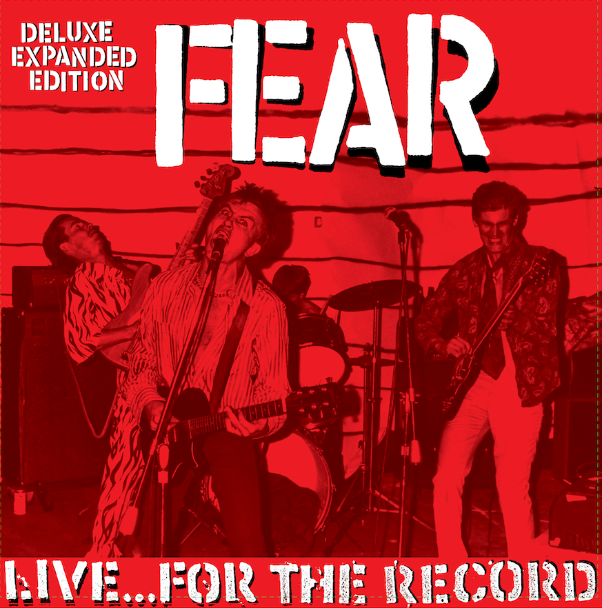 "FEAR - ""LIVE FOR THE RECORD"" 30TH ANNIVERSARY LIMITED EDITION 2XCD"