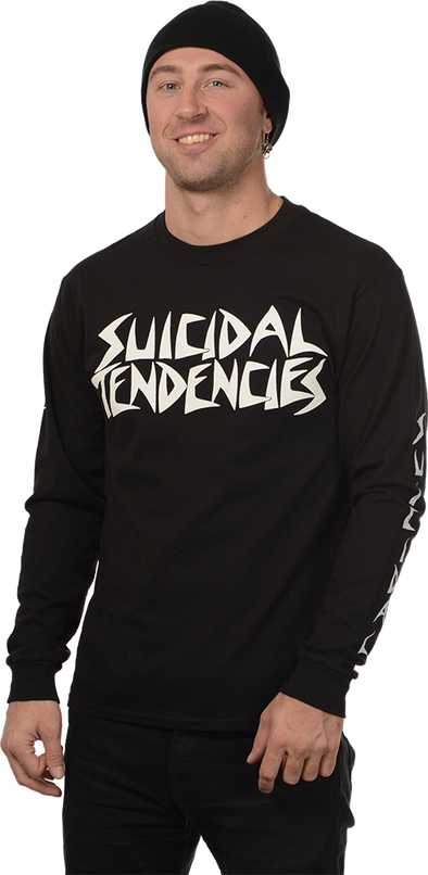 "SUICIDAL TENDENCIES ""LOGO"" LONGSLEEVE T-SHIRT"