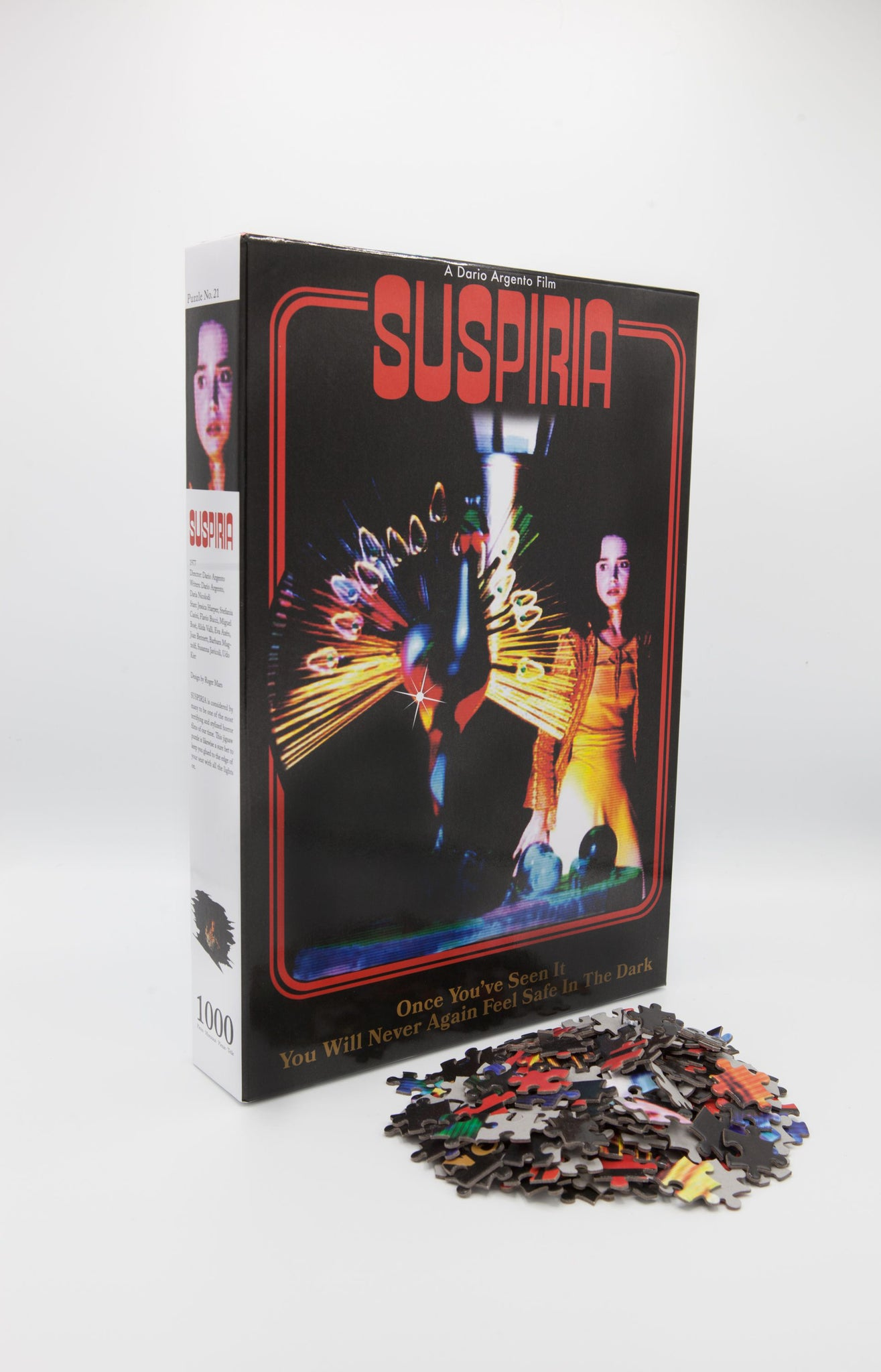 "DARIO ARGENTO ""SUSPIRIA"" X MESSED UP PUZZLES JIGSAW PUZZLE BUNDLE WITH EXCLUSIVE T-SHIRT"