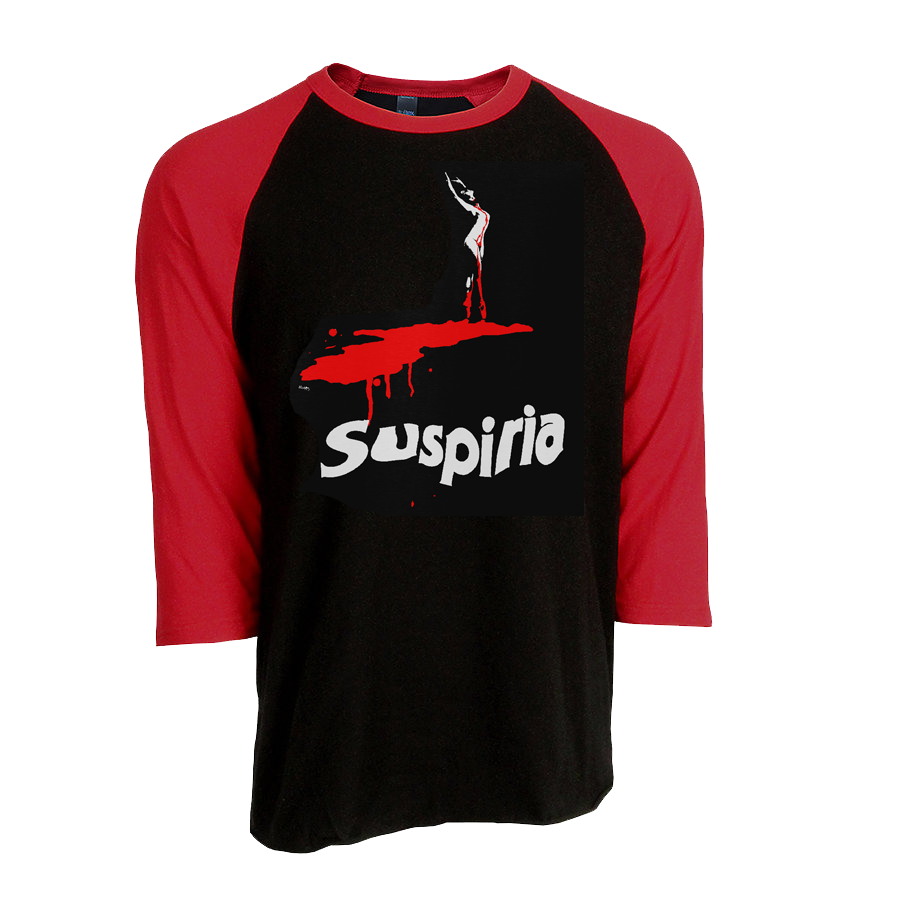 "DARIO ARGENTO ""SUSPIRIA"" RED SLEEVED RAGLAN - FALL 2020 COLLECTION"