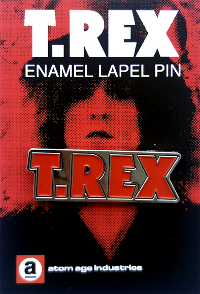 "T.REX ""THE SLIDER"" ENAMEL PIN"