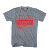 "TELEVISION - ""MARQUEE MOON"" HEATHER GRAY T-SHIRT"