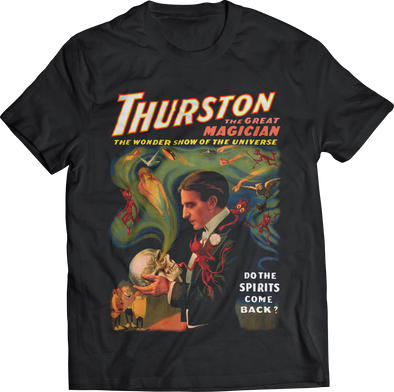 "ATOM AGE ""THURSTON, DO SPIRITS COME BACK?"" T-SHIRT"