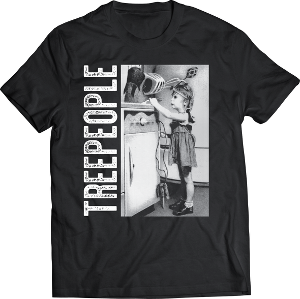 TREEPEOPLE: TOASTER GIRL T-SHIRT