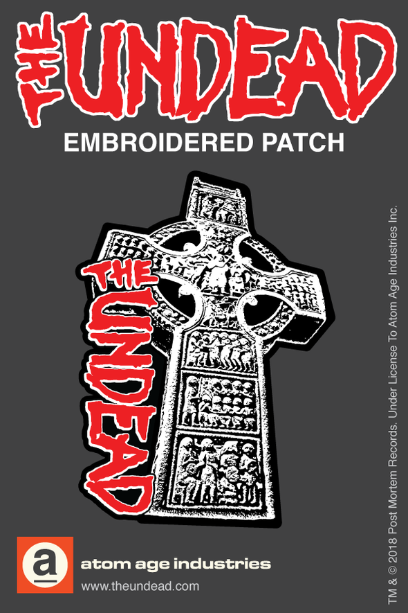 THE UNDEAD CROSS EMBROIDERED PATCH
