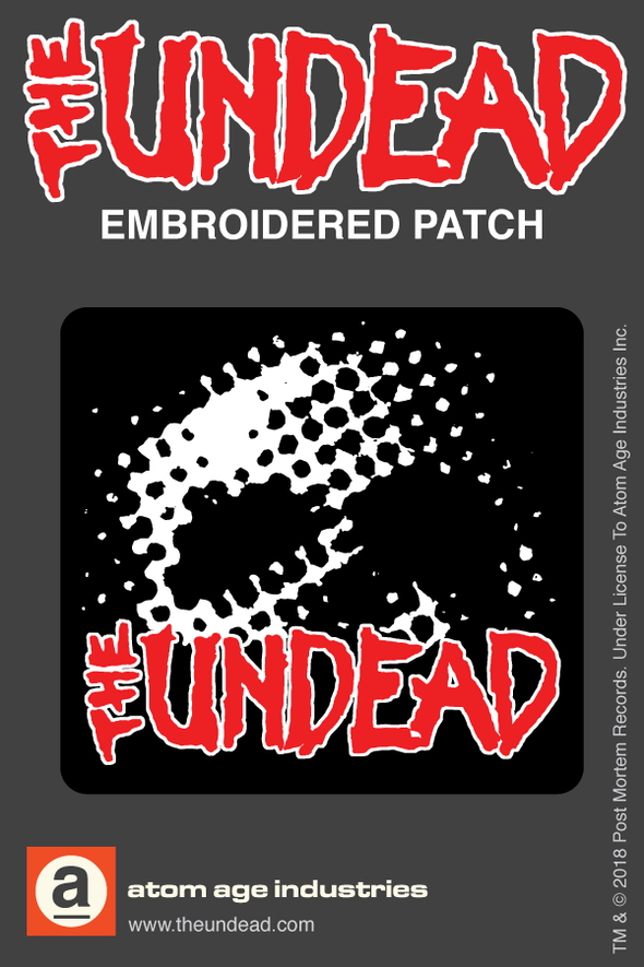 "THE UNDEAD ""DAWN OF THE UNDEAD"" EMBROIDERED PATCH"