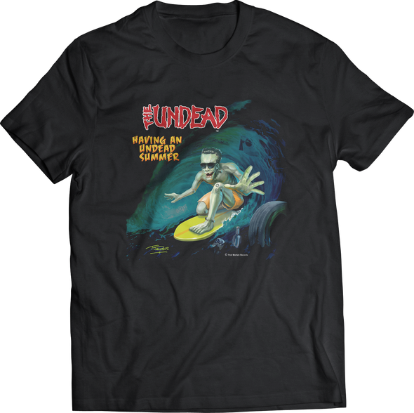 "THE UNDEAD ""UNDEAD SUMMER"" T-SHIRT"