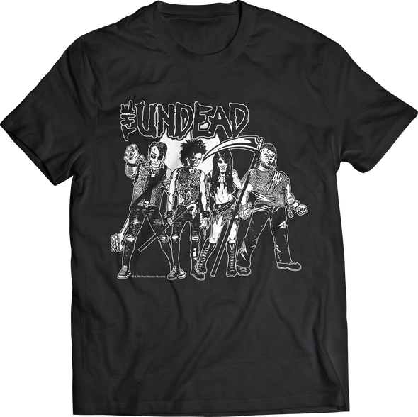 "THE UNDEAD ""ZOMBIES"" T-SHIRT"